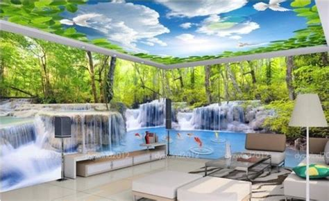 Gambar Wallpaper Dinding Kamar Tidur 3D Alami Dan Keren