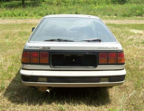 1984 Datsun 200sx by Vintage 1984 Datsun Nisson 200sx Two Door Car Silver 200 Sx