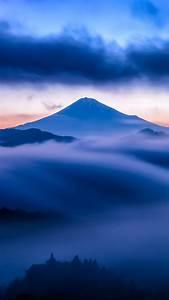 HD lock screen – Blue Mountains iPhone 6 Wallpaper