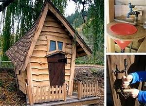 Crooked & Whimsical Playhouses - Eclectic