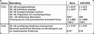Privat Rechnung Stellen : aktuelle fallbeispiele individualprophylaxe bei einem jugendlichen mit anschlie ender inlay ~ Themetempest.com Abrechnung