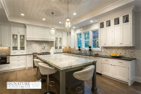 Shiplap Ceiling Kitchen by Kitchen With Tray Ceiling Transitional Kitchen Sir