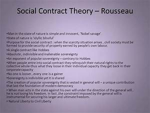 Social Contract Theory  U2013 Rousseau