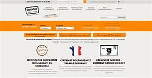 Certificat De Destruction A Remplir En Ligne : commander son certificat de conformit en ligne avec eurococ ~ Gottalentnigeria.com Avis de Voitures