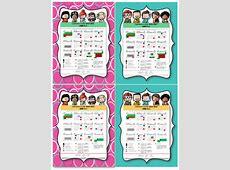 Hermosos diseños de los calendarios para el ciclo escolar