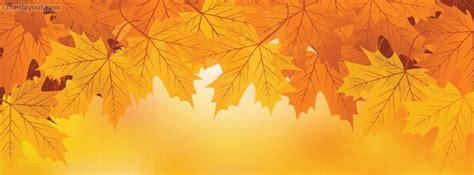 autumn fall leaves orange facebook cover coverlayoutcom