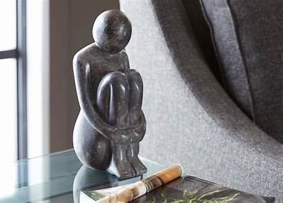 Sitting Person Ethan Allen Objects Decorative