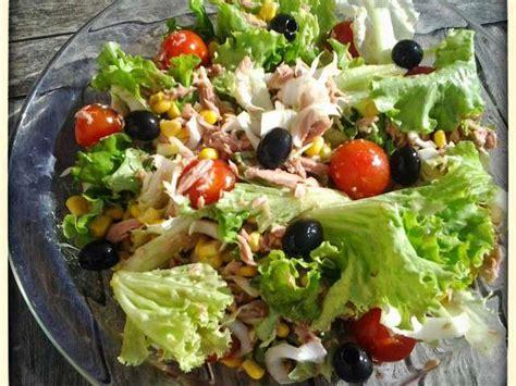 cuisiner la salade verte recettes de salade verte et thon