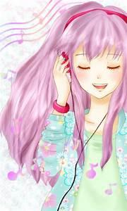 listening to music by blankiita-cute on deviantART