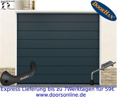 porta garage sezionale porta garage porta sezionale ral 7016 grigio antracite per