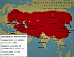 The Rise and Decline of the Medieval Mongol Empire ...