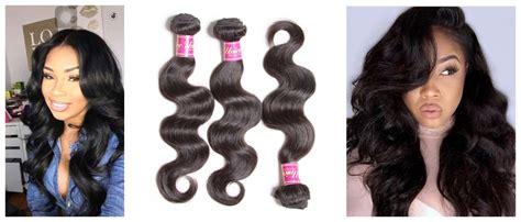 Virgin Brazilian Body Wave And Brazilian Loose Wave Hair