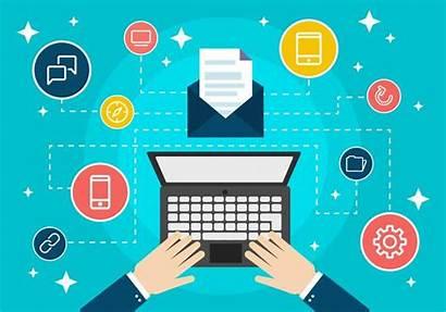 Marketing Digital Flat Vector Data