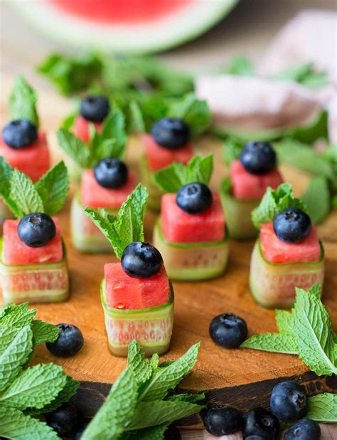 summer canapes best 25 watermelon appetizer ideas on