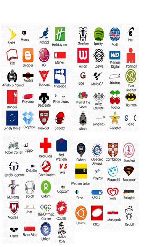 logo quiz answers for android logo quiz cheats pinterest best logos and game logo ideas