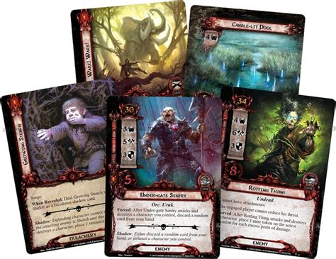 Lotr Lcg Deck Building 101 by Lord Of The Rings Lcg Nightmare Deck The Land Of