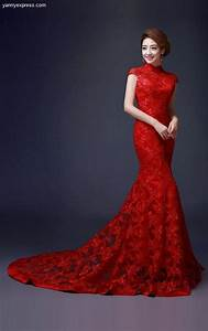 60 beautiful red wedding dress inspiration41 nona gaya With red gown for wedding