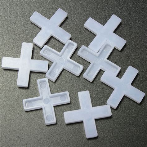 Wall Tile Leveling Spacers by 100pcs Plastic Cross Type Tile Spacers For Leveling System