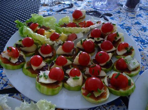 recette canapes pour aperitif mes recettes minceur amuses bouche pour apéritif estival