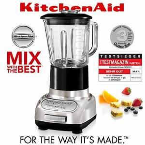 KitchenAid Artisan Blender Brushed Nickel Mixer