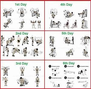 The 6 Day Bodybuilding Routine Plan