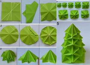 Tannenbaum Aus Serviette Falten : origami zu weihnachten falten 6 ideen mit faltanleitung ~ Lizthompson.info Haus und Dekorationen