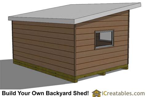 modern shed plans side door