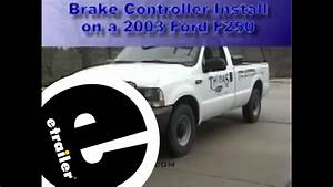 Install 2003 Ford F250 Brake Controller