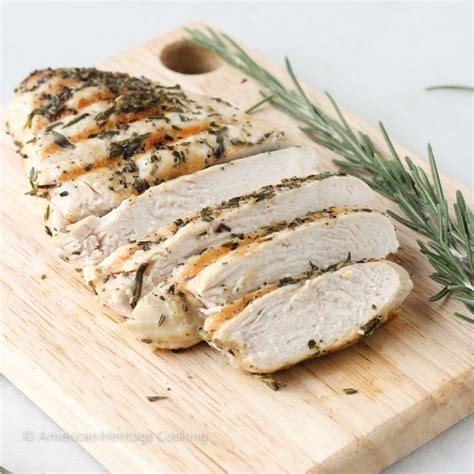 cooked chicken foolproof grilled rosemary chicken american heritage cooking