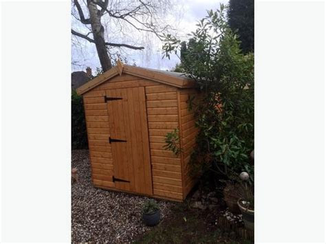 8x6 13mm Shiplap Garden Shed Brierley Hill, Dudley
