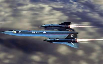 Blackbird Sr 71 Lockheed Wallpapers Flight Sr71