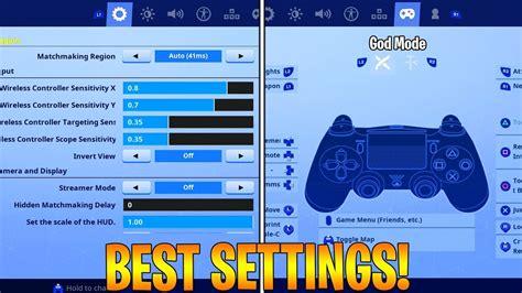 fortnite console settings psxbox season  fortnite