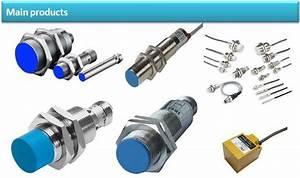 Calt Metal Cylinderical Capacitive 12v Dc Proximity Sensor