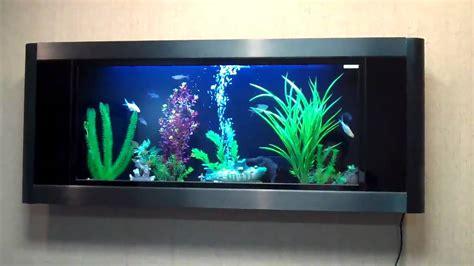 aquarium v ii aquavista panoramic wall mounted aquariums