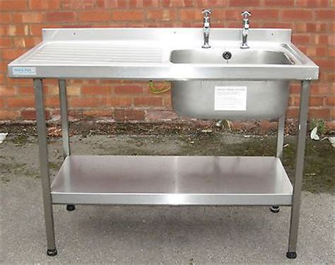 sissons stainless steel sink single large sink