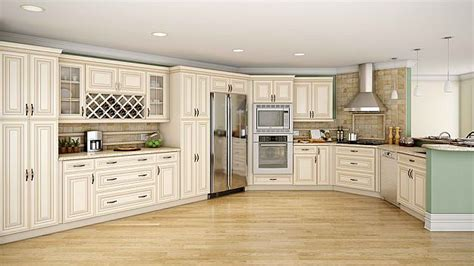 cream glazed kitchen cabinets paint tips for old furniture diy projects craft ideas