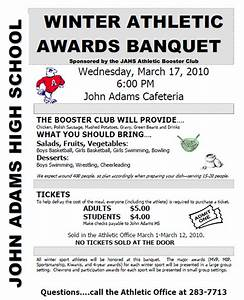 sports awards banquet program template sports banquet With sports program template free