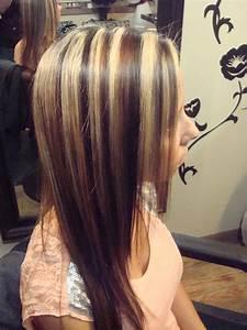 100 Best Hairstyles Dark Brown Hair With Blonde Highlights