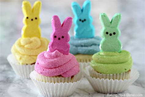 how to make easter cupcakes peeps cupcakes easy easter cupcakes easter dessert recipes