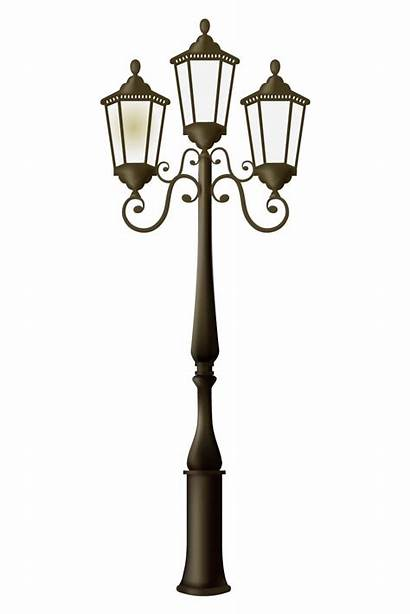 Street Clipart Lights Frame Lamp Fashioned Lighting
