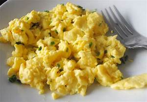 Cream Cheese Scrambled Eggs   Recipe Ideas   Modern Mom Meals