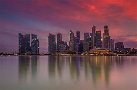 Singapore Nightscape Wallpaper, HD City 4K Wallpapers ...