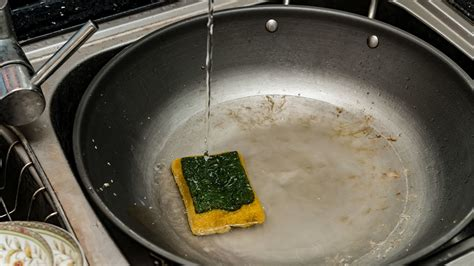 kitchen sponge harbors zillions  microbes cleaning