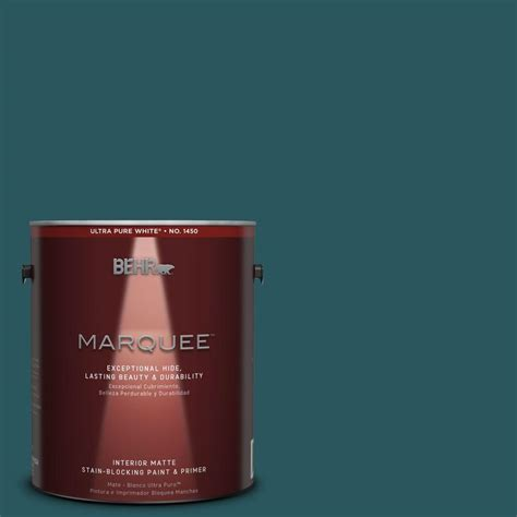 behr marquee 1 gal mq6 1 abyss one coat hide matte