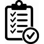 Svg Icon Checklist Cdr Eps