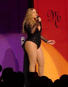 MARIAH CAREY Performs at Ceasar's Palace in Las Vegas 07 ...