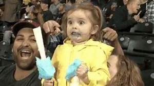 Watch This Adorable Little Girl Freak Out On Cotton Candy