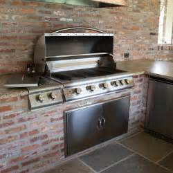 stainless kitchen islands blaze 40 inch 5 burner built in gas grill with