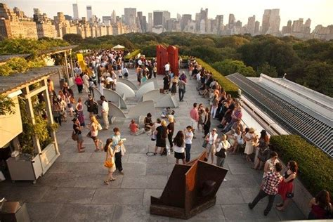 the metropolitan museum roof garden caf 233 martini bar nightlife things to do in new york