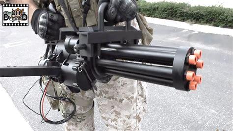 Echo1 M134 Minigun Airsoft Machine Gun Ep